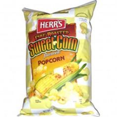 Herr's fire roasted sweet corn popcorn