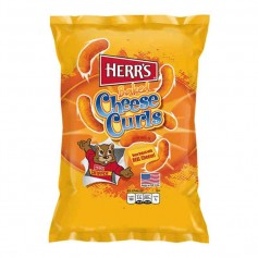Herr's baked cheese curls 28G