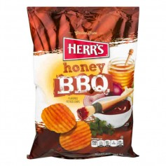 Herr's honey BBQ 28G