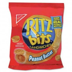 Ritz bits peanut butter 42G