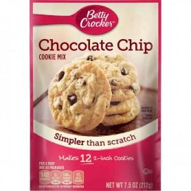 Betty Crocker chocolate chip cookie mix 212G
