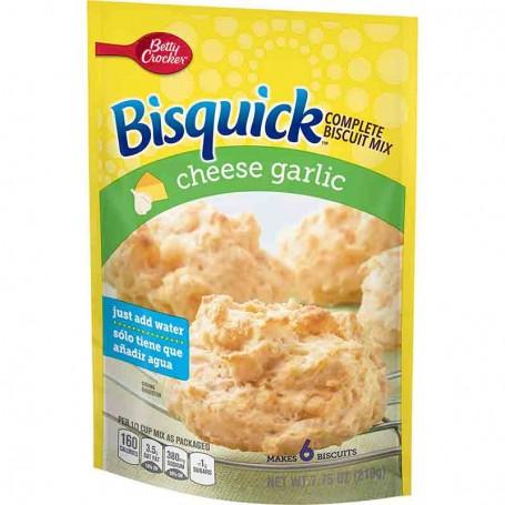 Betty Crocker bisquick cheese garlic biscuit mix