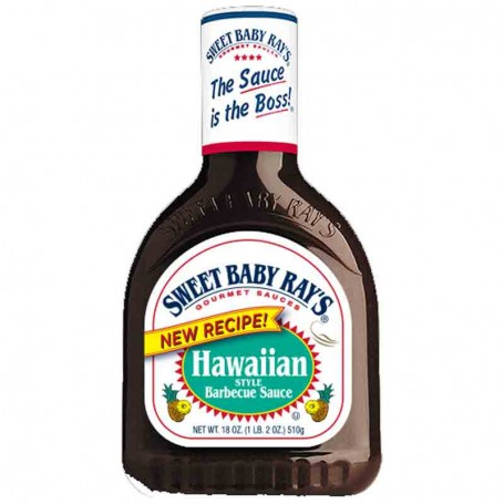Sweet baby ray's BBQ sauce hawaiian