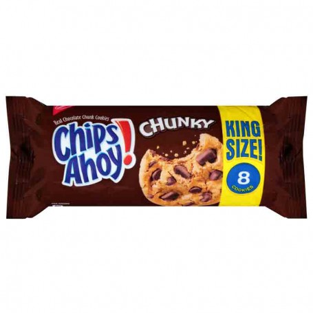 Chips ahoy! king size chunky 106G