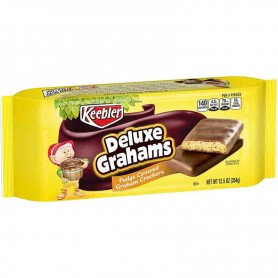 Keebler deluxe grahams fudge covered