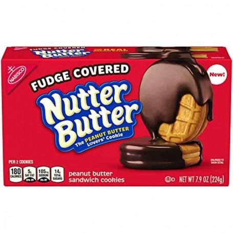 Nutter butter fudge covered 224G