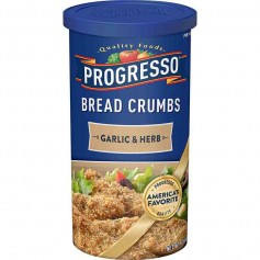 Progresso bread crumbs garlic and herb
