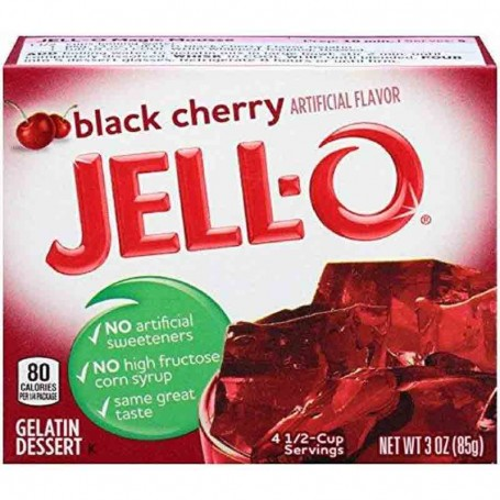Jell-O Gellée à la cerise noire