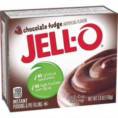 Jell-O chocolate fudge pudding
