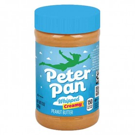 Peter pan peanut butter whipped creamy