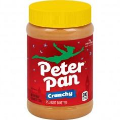 Peter pan peanut butter crunchy