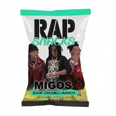 Rap snacks sour cream and ranch