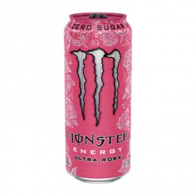 Monster zero sugar ultra rosa