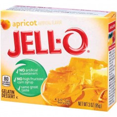 Jell-O Gellée à l'abricot