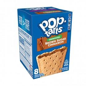 Kellogg's Pop tarts unfrosted brown sugar cinnamon