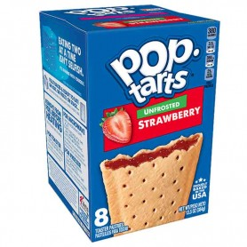 Pop tarts unfrosted strawberry