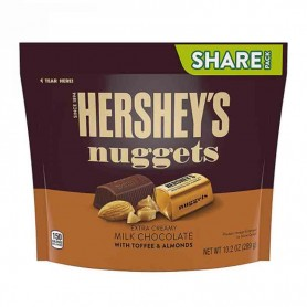 Hershey's nugget milk chocolate toffee almond