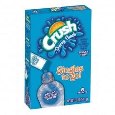 Crush berry punch to go