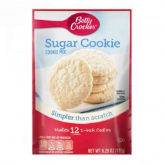 Betty crocker sugar cookie mix 177G
