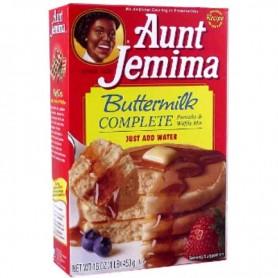 Aunt jemima buttermilk pancake mix complete 453g
