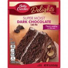 Betty Crocker delight super moist dark chocolate