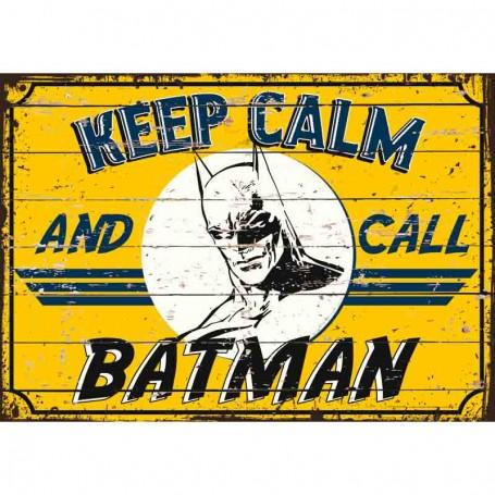 Plaque carton batman