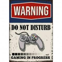 Plaque carton gamer