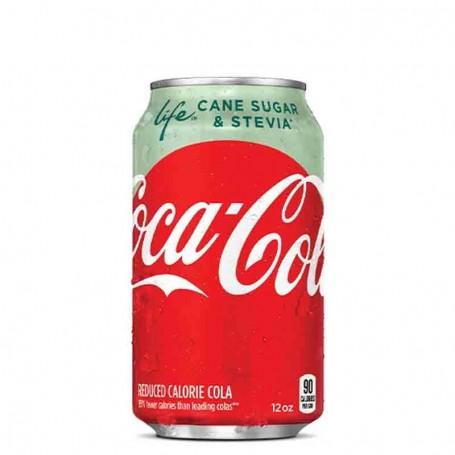 Coca cola life cane sugar and stevia