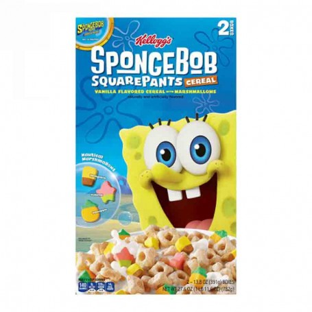 Spongebob cereals big size