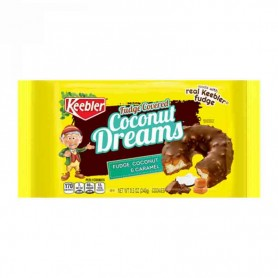 Keebler coconut dreams cookie fudge covered