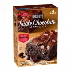 Hershey's triple chocolate brownie mix 2.26 KG