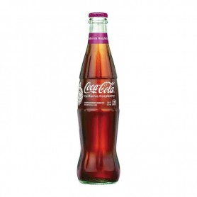 Coca cola california raspberry (bottle)