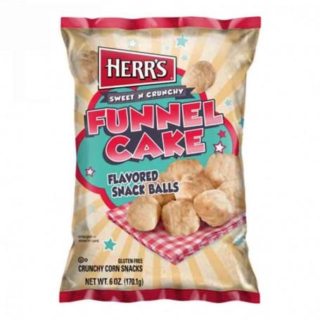 Herr's funnel cake ball
