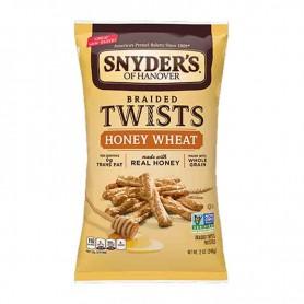 Snyder's twists honey wheat