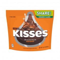 Hershey's kisses milk chocolat caramel filled 286G