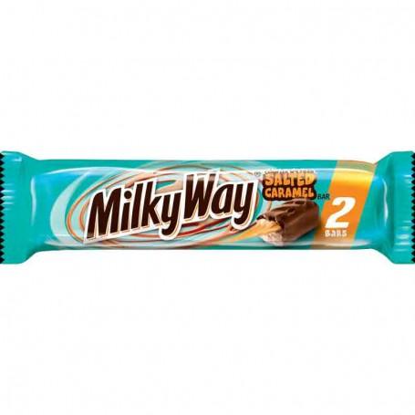 Milkyway salted caramel 2 bars