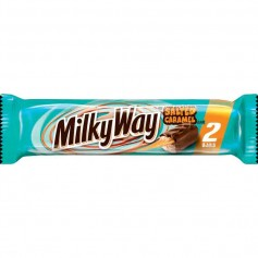 Milkyway salted caramel 2 bars
