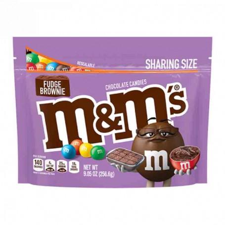 M&m's fudge brownie shariung size 256G