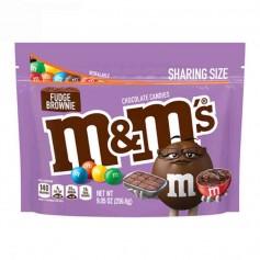 M&m's fudge brownie sharing size 256G