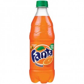 Fanta orange 591ML bottle