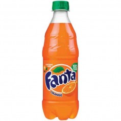 Fanta orange 591ML bottle