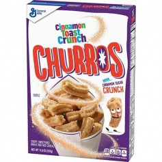 Cinnamon toast crunch churros cereals
