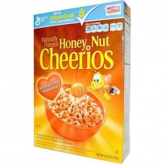 Cheerios honey nut cereals