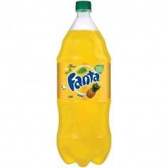Fanta pineapple 2L bottle
