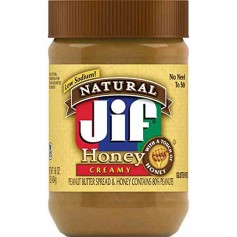 Jif natural crunchy honey