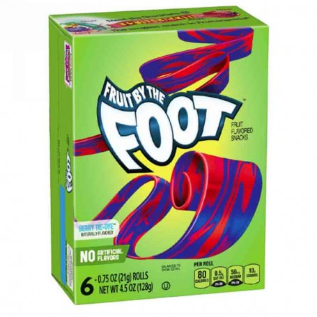 Fruit by the foot berry tie dye