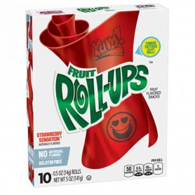 Fruit roll-ups strawberry sensation