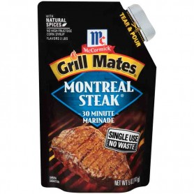 Grill mates marinade montreal steak
