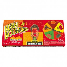 Bean boozled flaming five spinner