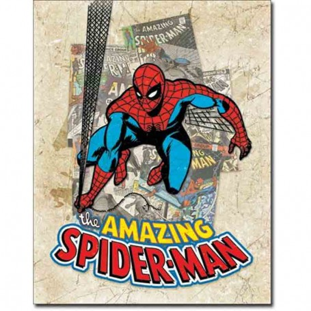 Spiderman cover splash